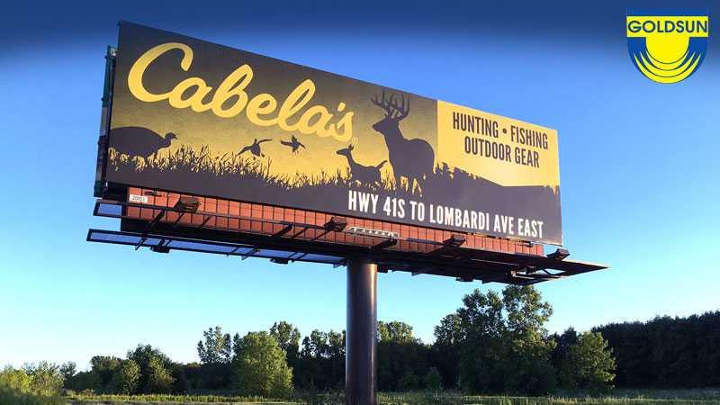 Biển quảng cáo ngoài trời một cột