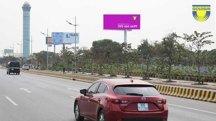 Quảng cáo trên cao tốc Thăng Long - Nội Bài