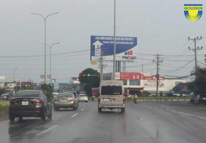Biển quảng cáo Khu công nghiệp Phú Mỹ