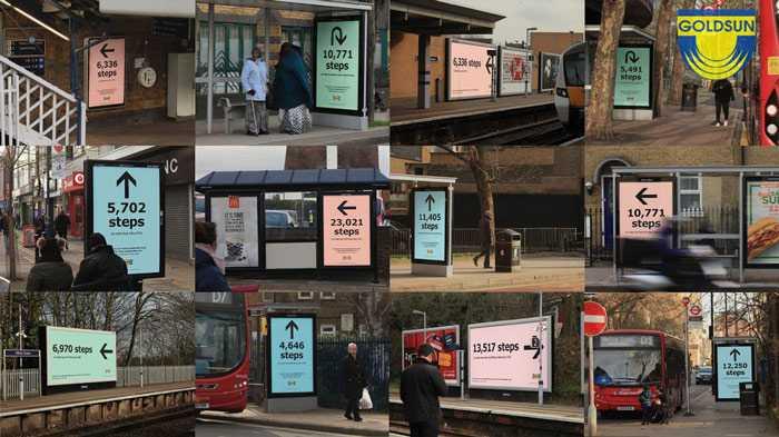 Biển hộp đèn trong chiến dịch quảng cáo của ikea