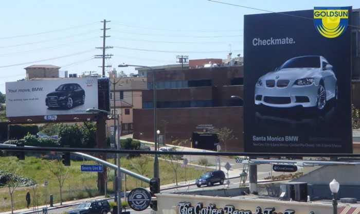 Biển quảng cáo ấn tượng của thương hiệu BMW