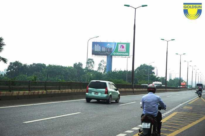 Biển quảng cáo thương hiệu Booyoung