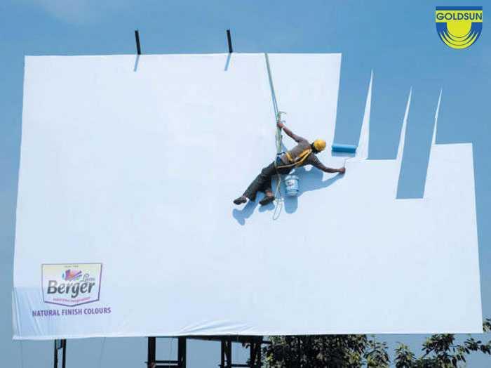 Quảng cáo của thương hiệu sơn JWT từ Ấn Độ