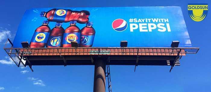 Biển quảng cáo ngoài trời của Pepsi