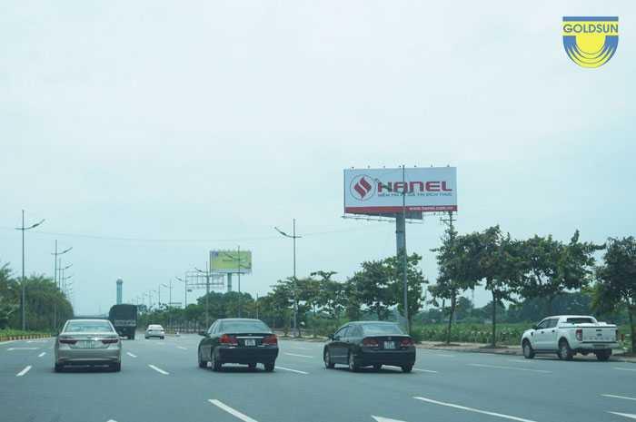 Biển quảng cáo thương hiệu Hanel