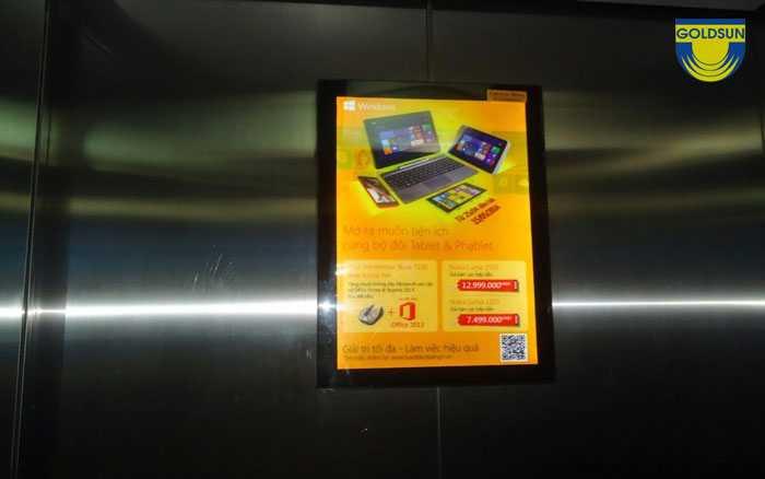 Quảng cáo trong thang máy giúp nâng cao nhận diện thương hiệu