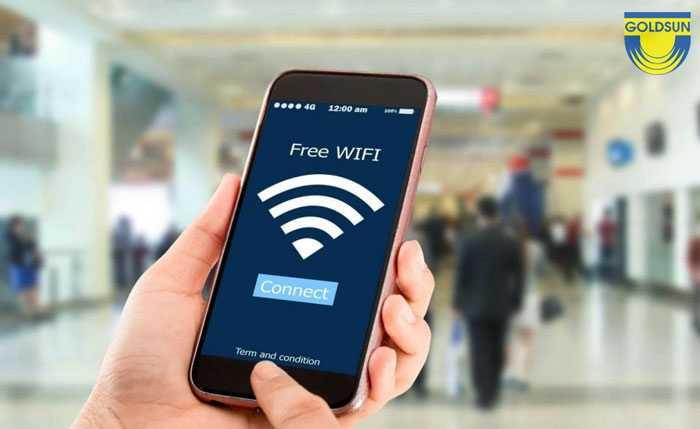 Quảng cáo wifi công cộng