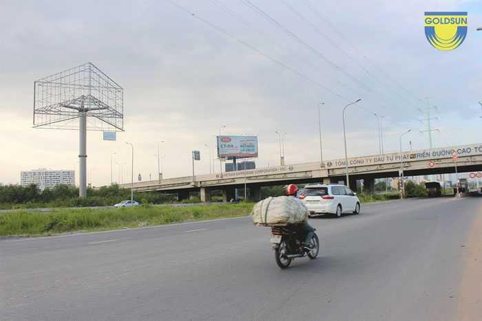 Biển quảng cáo trên cao tốc Long Thành - Dầu Giây mã vị trí SG60013