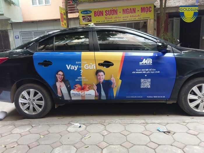 Quảng cáo taxi gia đình