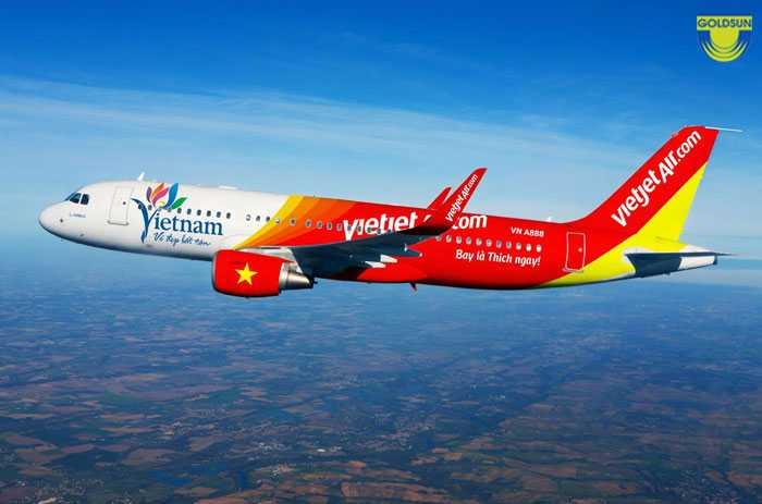 Quảng cáo trên máy bay Vietjet Air - Top 10 hình thức quảng cáo phổ biến
