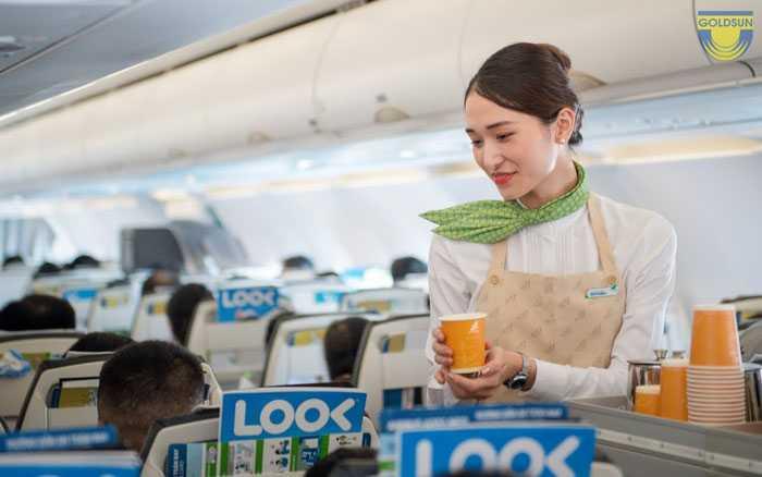 Những lưu yas khi quảng cáo trên máy bay Bamboo airways