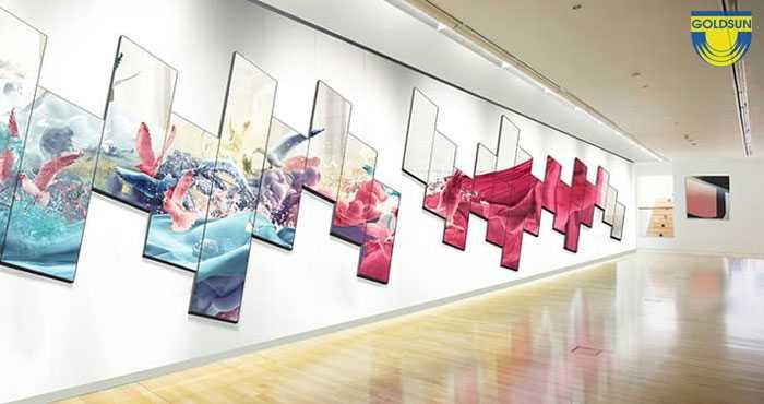 Biển quảng cáo digital OOH trong trung tâm thương mai