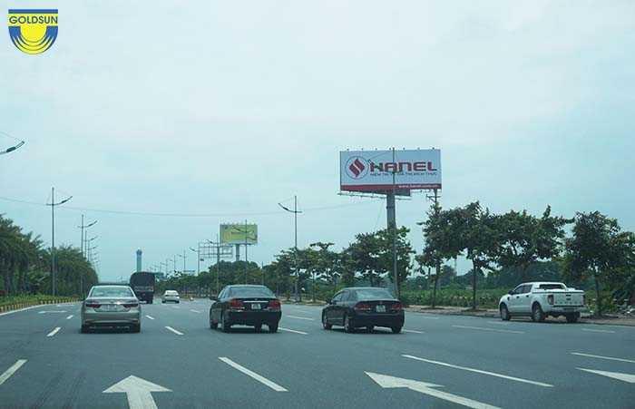Biển quảng cáo một cột
