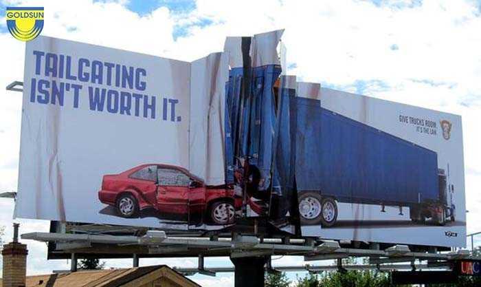 Biển quảng cáo ngoài trời độc đáo