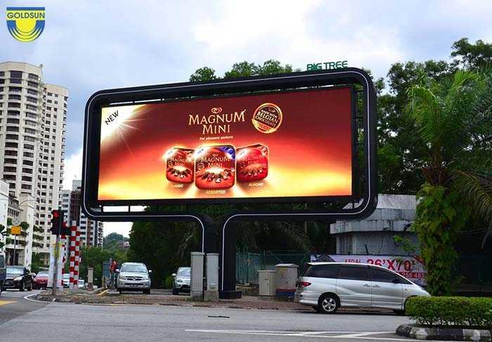 Quảng cáo màn hình kỹ thuật số tạo sự sinh động