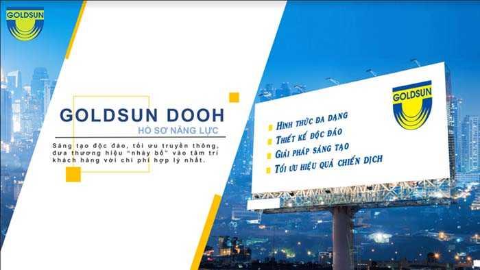 Goldsun Media Group là đơn vị cho thuê treo biển quảng cáo ngoài trời uy tín hàng đầu Việt Nam