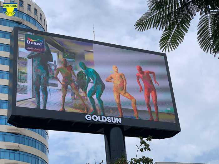 Biển quảng cáo một cột màn hình led