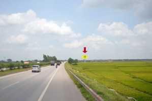 Điểm 2A_Bắc Ninh: Cột mốc H6/16 Quốc Lộ 18, Yên Phụ – Yên Phong – Bắc Ninh