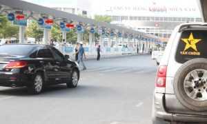 Quảng cáo Hộp đèn sân bay Tân Sơn Nhất (mái che nhà chờ xe buýt)