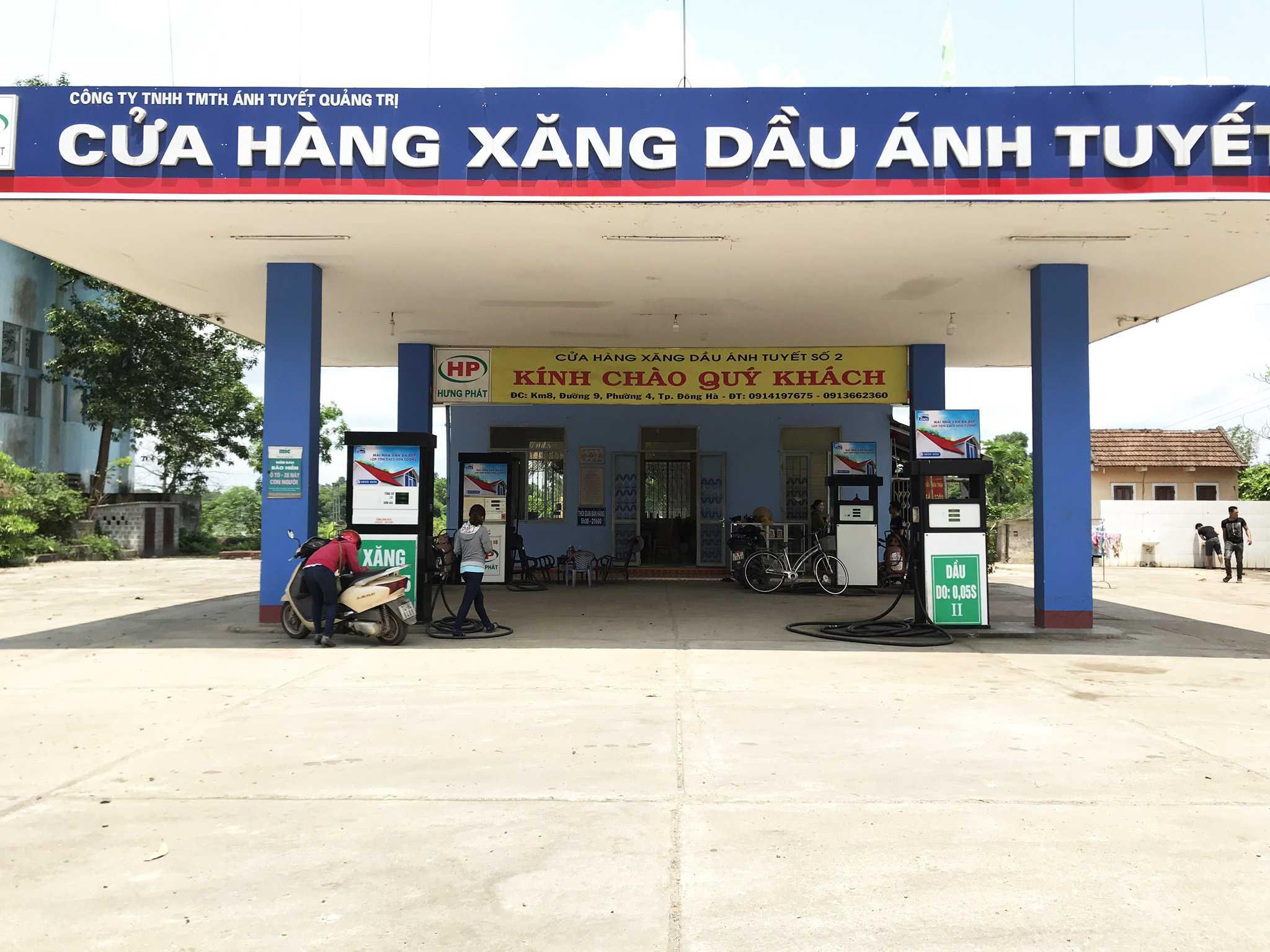 Quảng cáo CHXD Ánh Tuyết số 2, Cam Hiếu, Cam Lộ, Quảng Trị
