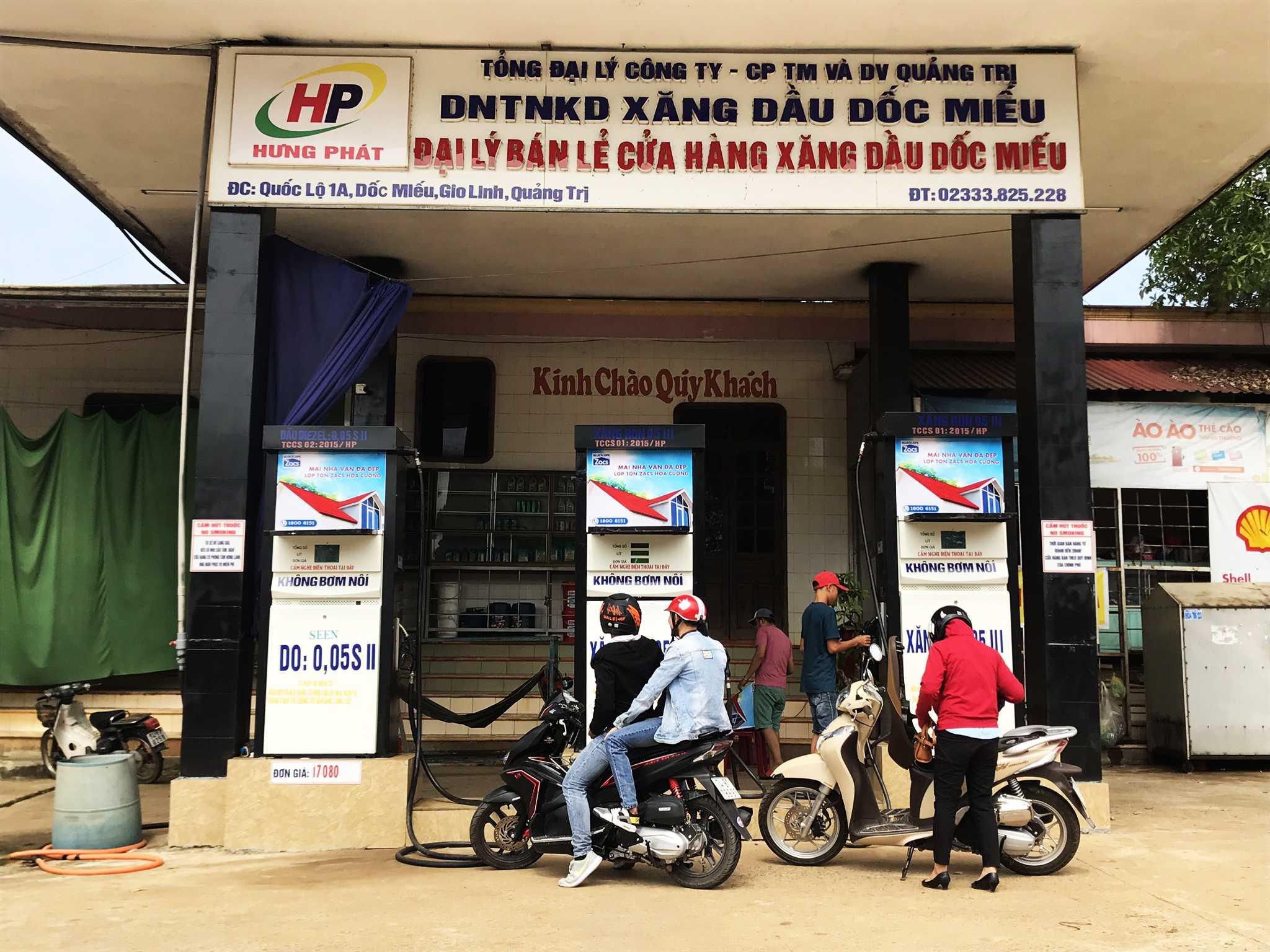 Quảng cáo CHXD Tuấn Phát Dốc Miếu, Dốc Miếu, xã Gio Phong, huyện Gio Linh, Quảng Trị