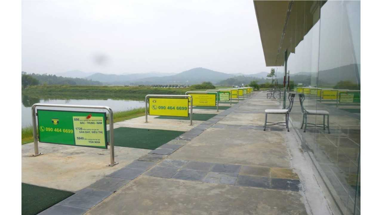 Quảng cáo sân golf