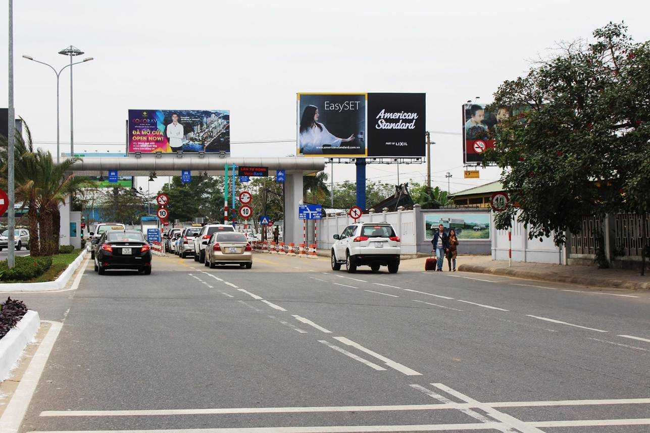 Pano quảng cáo ngoài trời S1 - Lối ra vào sân bay quốc tế Đà Nẵng, Đà Nẵng