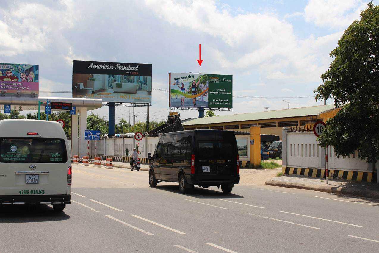 Pano quảng cáo S6 - Lối ra vào sân bay quốc tế Đà Nẵng, Đà Nẵng