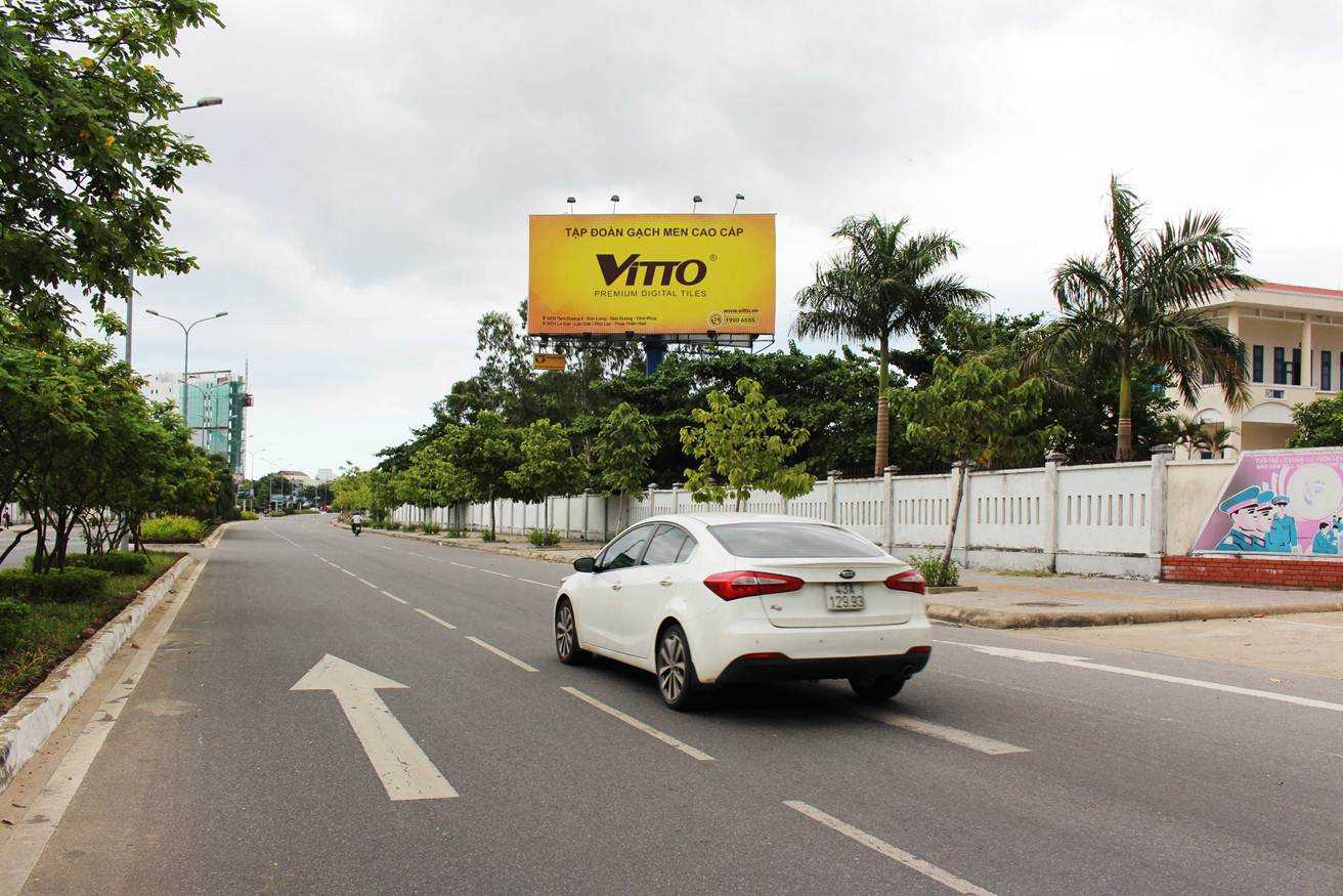 Pano quảng cáo S3 - Lối ra vào sân bay quốc tế Đà Nẵng, Đà Nẵng
