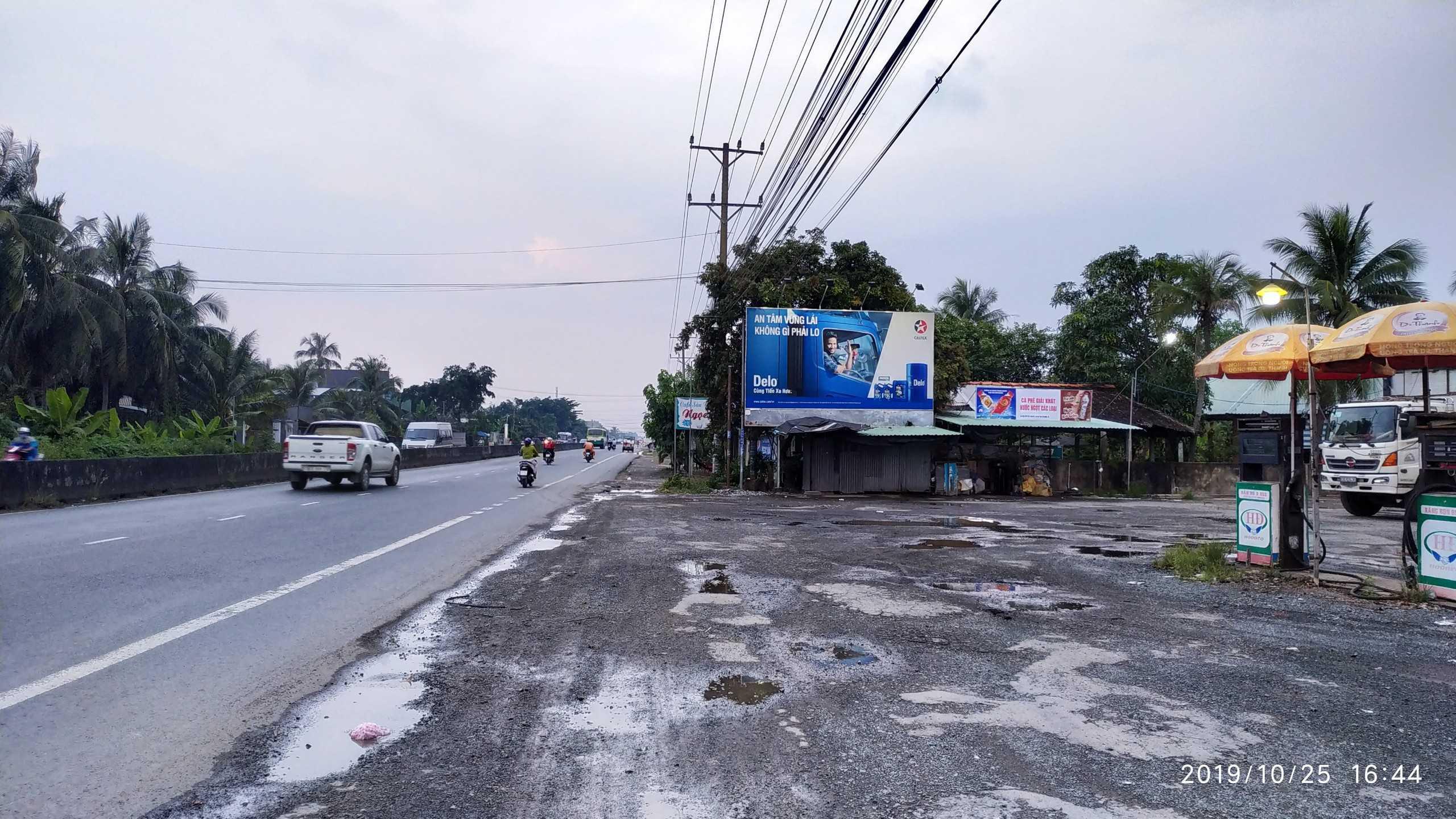 Quảng cáo CHXD Tân Phú, QL1A, phường Nhị Mỹ, TX Cai Lậy, Tiền Giang