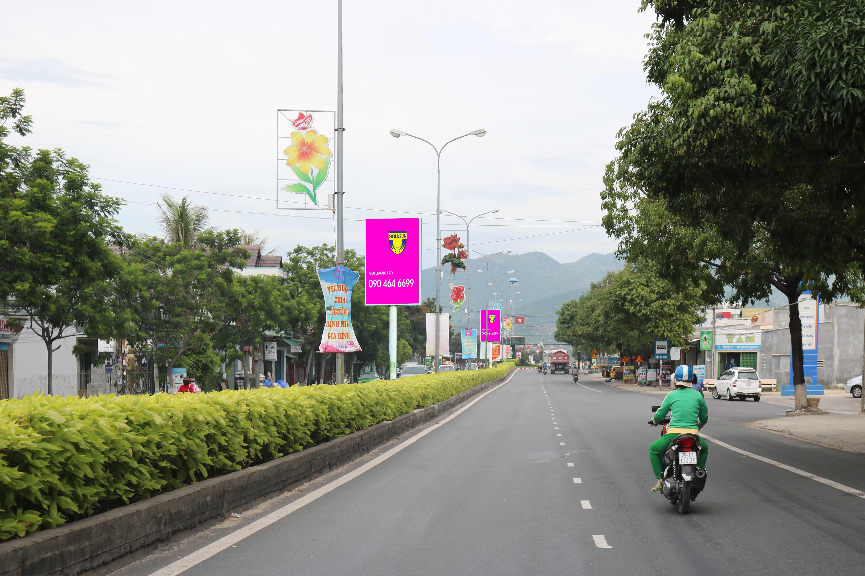 Quảng Cáo hộp đèn Dpc đường Hùng Vương Tp Cam Ranh