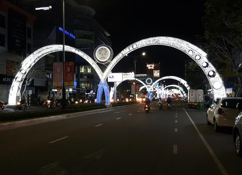 Trang trí đường phố