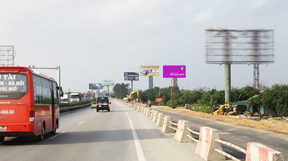 Quảng cáo điểm 58B, cột mốc H2/km206, Đại Xuyên, Phú Xuyên, Hà Nội