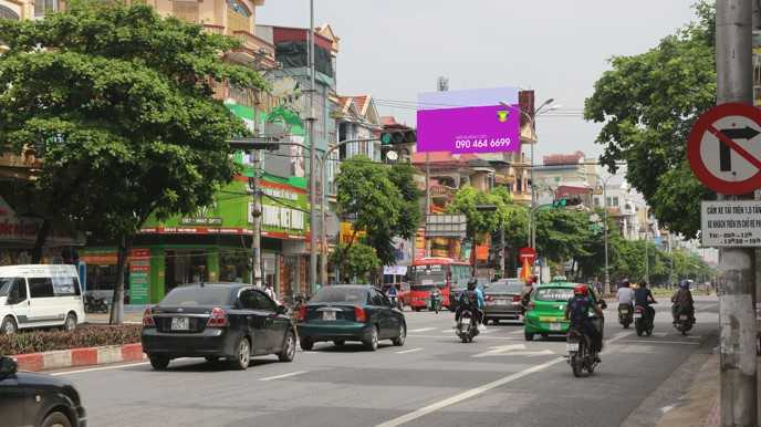 Quảng cáo Vị trí 1016 Trần Hưng Đạo, Ninh Bình