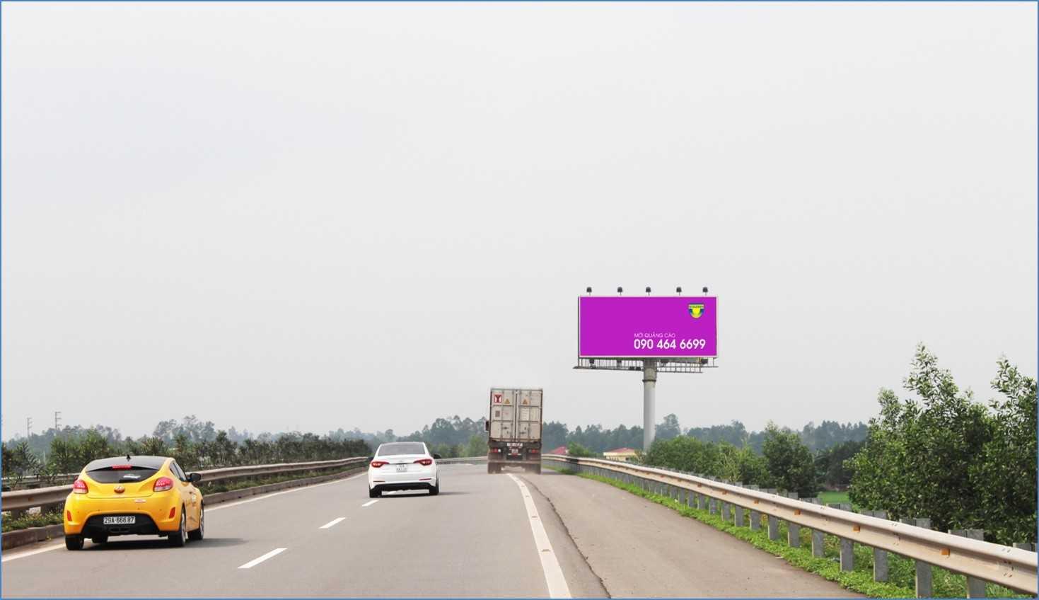 Quảng cáo HNLC 02 , Km11 +270 Cao tốc Hà Nội – Lào Cai