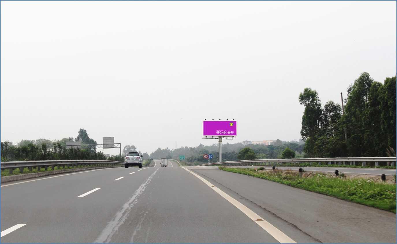 Quảng cáo HNLC 04 , Km23 +450 Cao tốc Hà Nội – Lào Cai