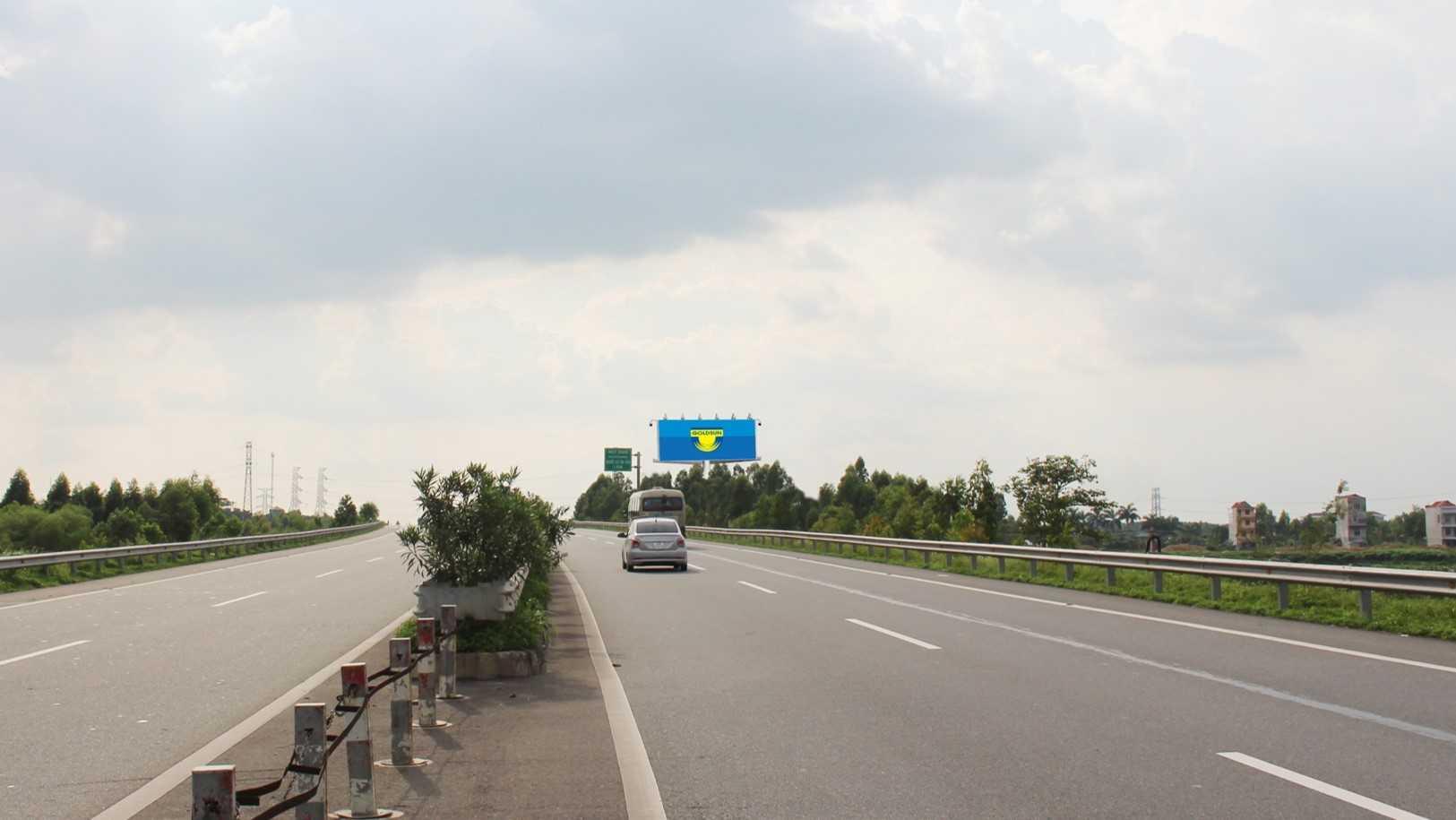 Quảng cáo HNLC 06, Km24 +860 Cao tốc Hà Nội – Lào Cai