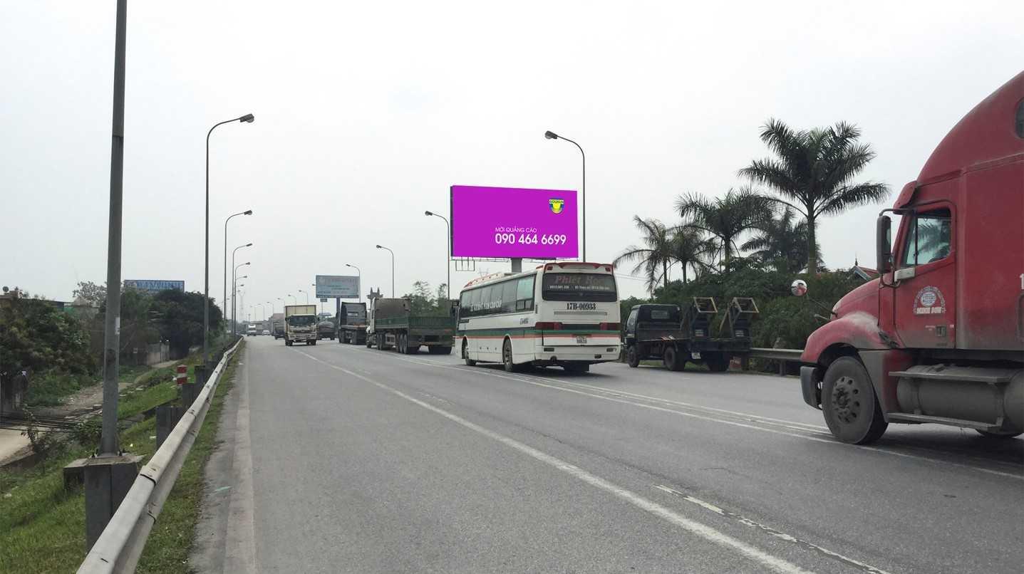 Quảng cáo Vị trí cầu Tân Đệ, Km83, xã Mỹ Tân - Mỹ Lộc - Nam Định