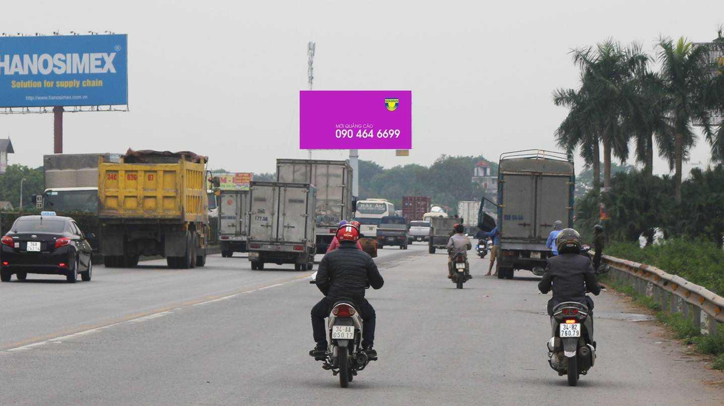 Quảng cáo Điểm: H9/39 Quốc lộ 5 - Cầm Giàng - Hải Dương