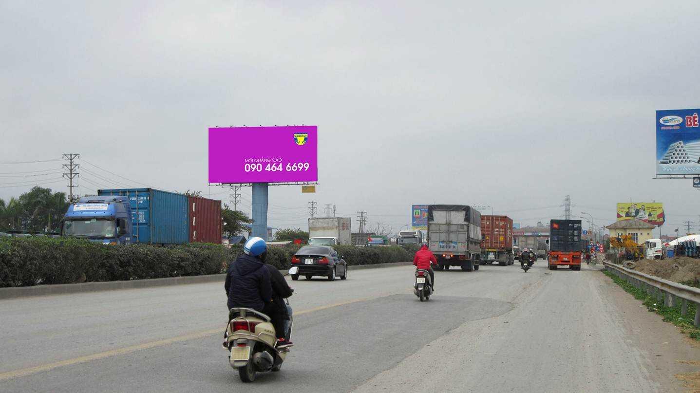 Quảng cáo Điểm: H2/18+50 Quốc lộ 5 - Văn Lâm - Hưng Yên