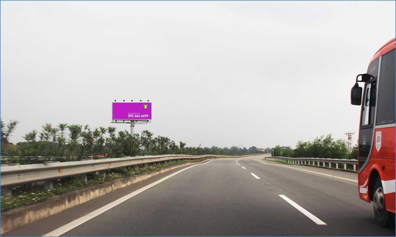 Biển quảng cáo HNLC 07 : Km11+870, cao tốc Hà Nội - Lào Cai
