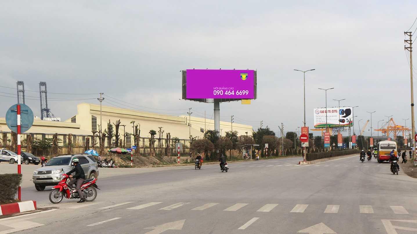 Quảng cáo Điểm 9B: H0+034/Km0 Quốc Lộ 18 - TP Hạ Long - Quảng Ninh