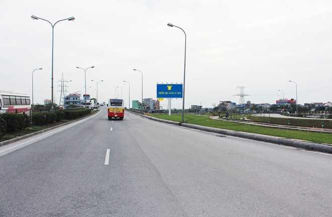 Quảng cáo VT3 - Nút giao QL21 và QL10, Tp. Nam Định, tỉnh Nam Định