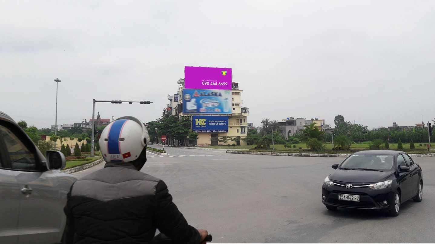 Quảng cáo ngã ba cầu Phú Khánh, Tp. Thái Bình, Thái Bình