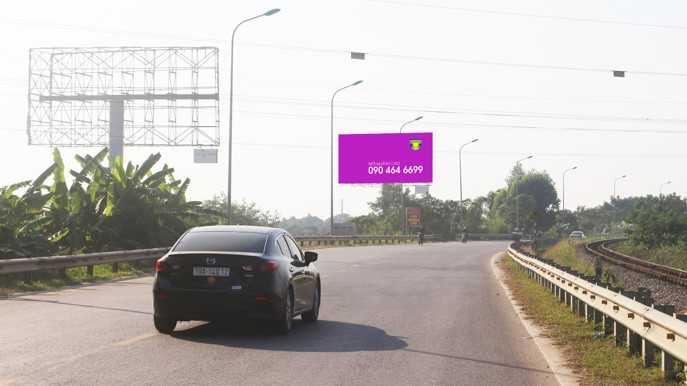 Quảng cáo Điểm H2/51+75 Quốc lộ 2 - TP Việt Trì - Phú Thọ