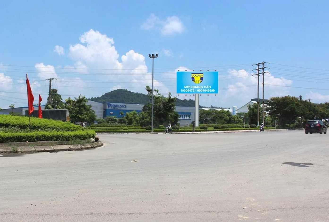 Quảng cáo Vị trí: Ngã 5 vòng xoay Bến xe Vĩnh Yên, Vĩnh Phúc