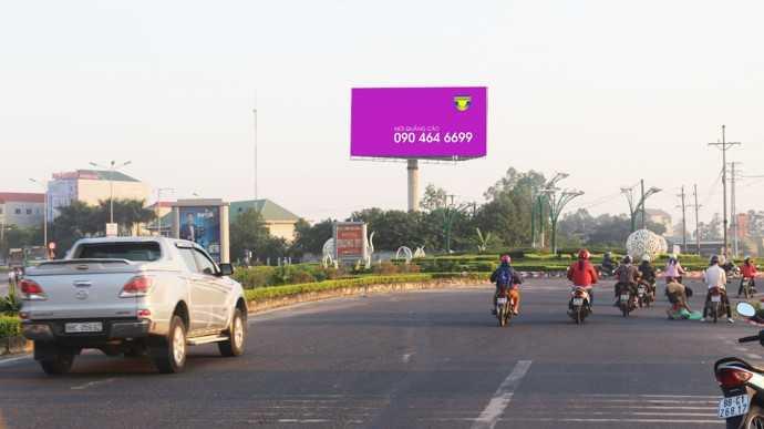 Quảng cáo Khuôn viên Trạm thu phí số 2 - Quốc lộ 2 - TP Vĩnh Yên - Vĩnh Phúc
