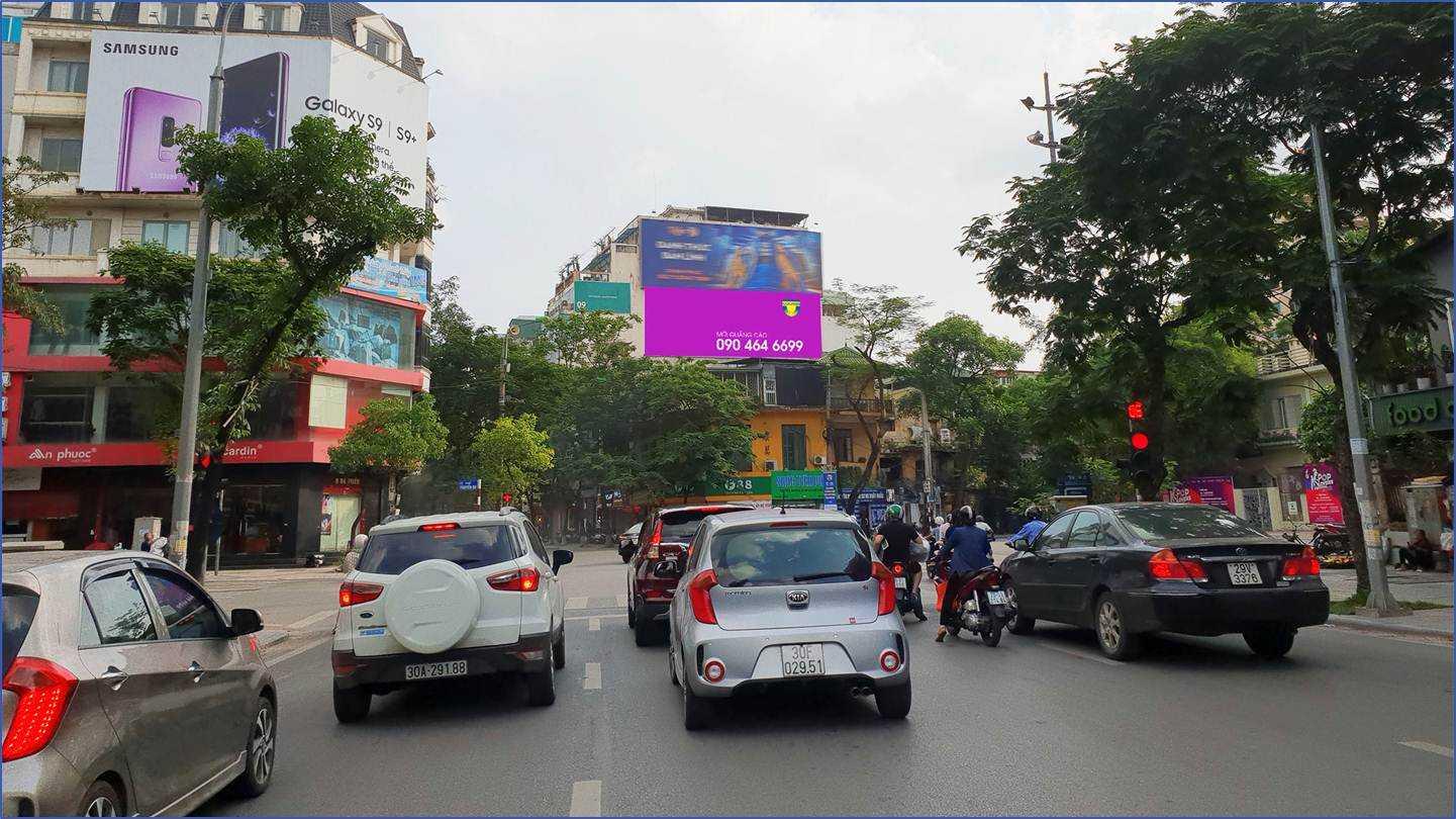 Quảng cáo Ngã 5 Bà Triệu - Bà Triệu - Hai Bà Trưng - Hà Nội