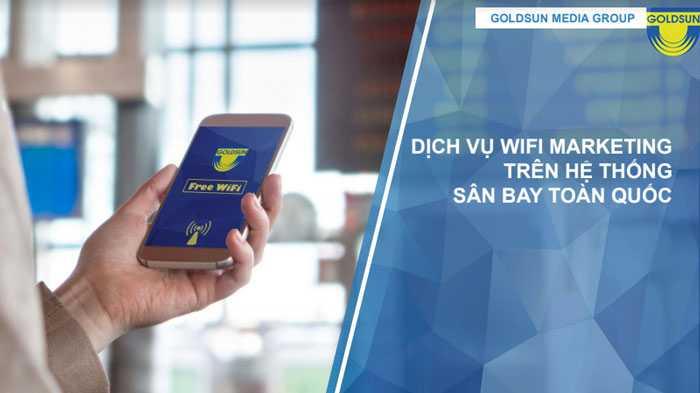 Quảng cáo wifi marketing - Goldsun Media Group