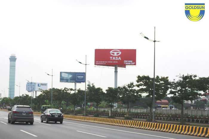 Biển quảng cáo tấm lớn thương hiệu TaSa